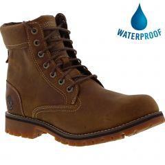 Timberland Mens A2JJB Rugged 6 Inch Waterproof Boots - Rust