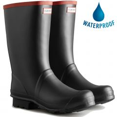 Hunter Mens Argyll Short Knee Wellies Rain Boots