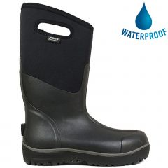 Bogs Mens Classic Ultra High Neoprene Wellies - Black