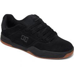 DC Mens Central Trainers - Black Black Gum
