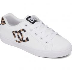 Dc Womens Chelsea Trainers - Leopard Print
