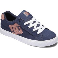 DC Womens Chelsea Trainers - Blue Pink