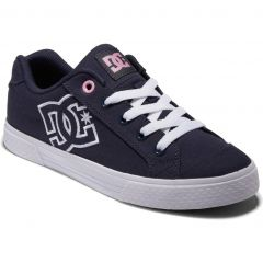 Dc Womens Chelsea Trainers - Navy White