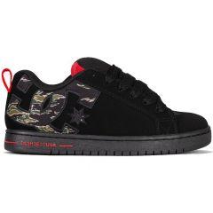 DC Mens Court Graffik Skate Shoes - Camo