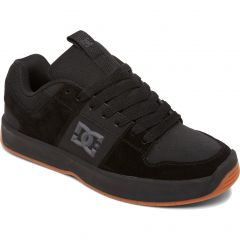 DC Mens Lynx Zero Leather Skate Shoes - Black Gum