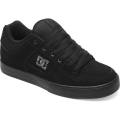 DC Mens Pure Skate Shoes - Black Pirate Black