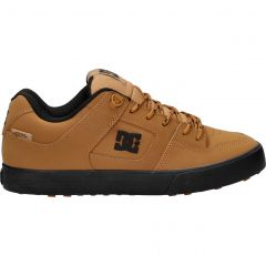 DC Mens Pure WNT Skate Shoes - Wheat
