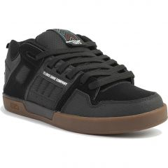 DVS Mens Comanche 2.0+ Skate Shoes - Black Gum Nubuck