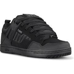 DVS Mens Enduro 125 Skate Shoes - Black Charcoal Nubuck
