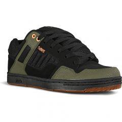 DVS Mens Enduro 125 Skate Shoes - Black Olive Nubuck