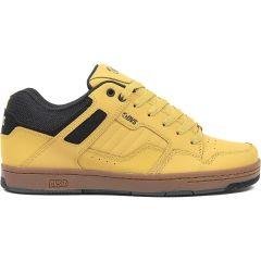 DVS Mens Enduro 125 Skate Shoes - Chamois Black Nubuck