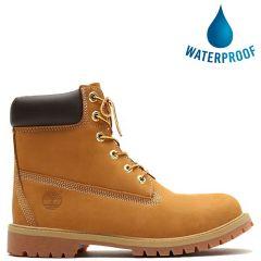 Timberland Kids 6 Inch Premium Waterproof Boots - 12909 - Wheat Yellow