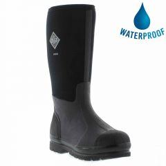 Muck Boots Mens Womens Chore Hi Work Wellies Rain Boots - Black