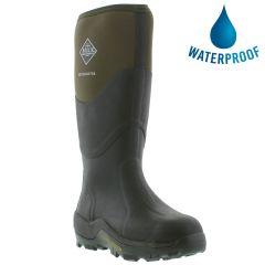 Muck Boots Mens Womens Muck Master Neoprene Wellies Rain Boots - Moss