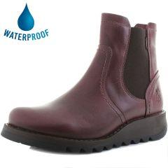 Fly London Womens Scon GTX Waterproof Chelsea Boots - Purple