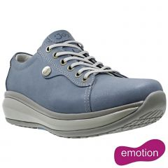 Joya Womens Paris II Leather Shoes - Light Blue