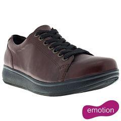 Joya Womens Sonja II Leather Shoes - Amarone