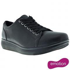 Joya Womens Sonja II Leather Shoes - Midnight