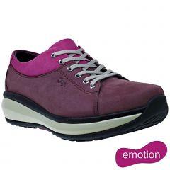Joya Womens Athena Leather Shoes - Fig