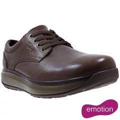 Joya Mens Mustang II Leather Shoes - Coffee Bean