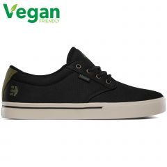 Etnies Mens Jameson 2 Eco Vegan Shoes - Black Green Gold