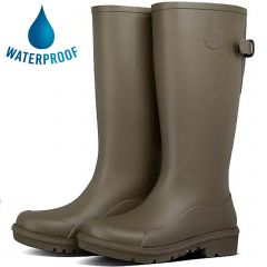 Fitflop Womens Wonderwelly Tall Wellington Boots - Military Green