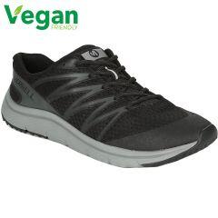 Merrell Mens Overhaul Vegan Running Shoes - Black