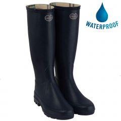 Le Chameau Womens Iris Wellington Boots - Noir