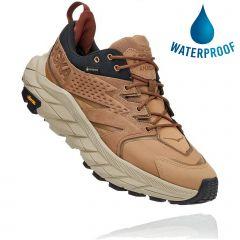 Hoka One One Mens Anacapa Low GTX Waterproof Walking Shoes - Tigers Eye Black