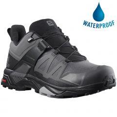 Salomon Mens X Ultra GTX Waterproof Shoes - Magnet Black Monument