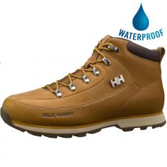 Helly Hansen Mens The Forester Water Resistant Boots - Bone Brown Walnut