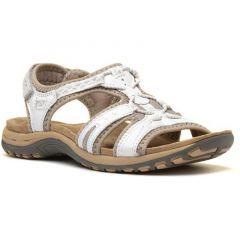 Earth Spirit Womens Fairmont Leather Sandals - White