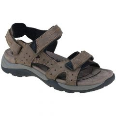 Earth Spirit Mens Mcallen Leather Walking Sandals - Stone Brown