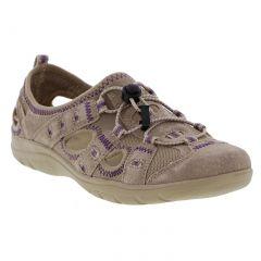 Earth Spirit Womens Winona Leather Trainer Sandals - New Khaki