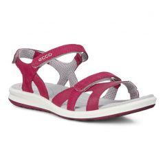 Ecco Shoes Womens Ecco Cruise II Leather Sandals - Sangria Sangria