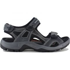 Ecco Shoes Mens Offroad Leather Walking Sandals - Marine
