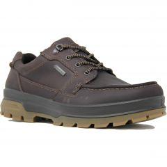 Ecco Shoes Rugged Track GTX Waterproof Walking Shoes - Mocha