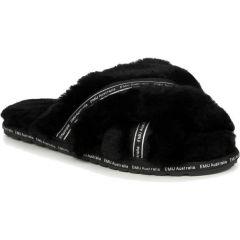 EMU Australia Womens Mayberry Own It Sheepskin Slippers - Black