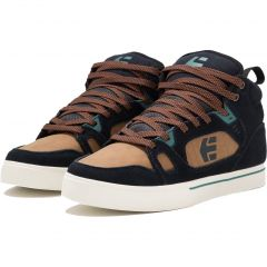 Etnies Mens Agron Trainers - Navy Brown White