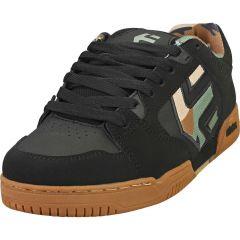 Etnies Mens Faze Chunky Skate Shoe - Black Camo