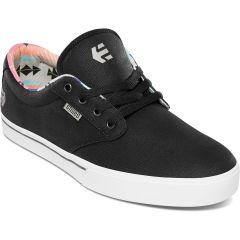 Etnies Mens Jameson 2 Eco Vegan Shoes - Black White Navy