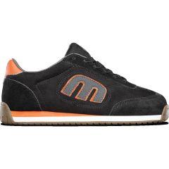 Etnies Mens Lo Cut II LS Skate Shoes - Black Dark Grey Gum