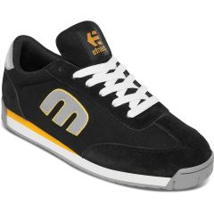 Etnies Mens Lo Cut II LS Skate Shoes - Black Grey Yellow