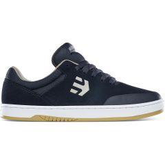 Etnies Mens Marana Skate Shoes - Navy Tan
