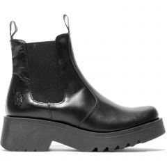 Fly London Womens Medi Chelsea Ankle Boots - Black