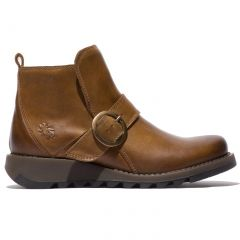Fly London Womens Sias Ankle Boot - Camel