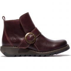 Fly London Womens Sias Ankle Boot - Purple