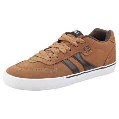 Globe Mens Encore 2 Skate Shoes - Tan Brown