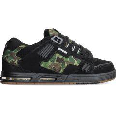 Globe Mens Sabre Skate Shoes - Black Camo