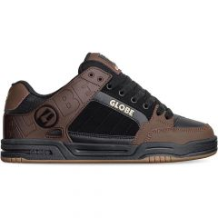 Globe Mens Tilt Skate Shoes - Black Brown